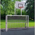 Fully Welded Free-Standing Goal with Basketball Hoop
