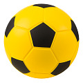 Fodbold af PE-skum