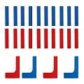 Sport-Thieme® Bodenmarkierungs-Set: Linien